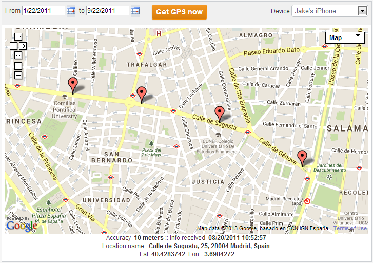 Method 2: How to Hack GPS Location iPhone with TheTruthSpy