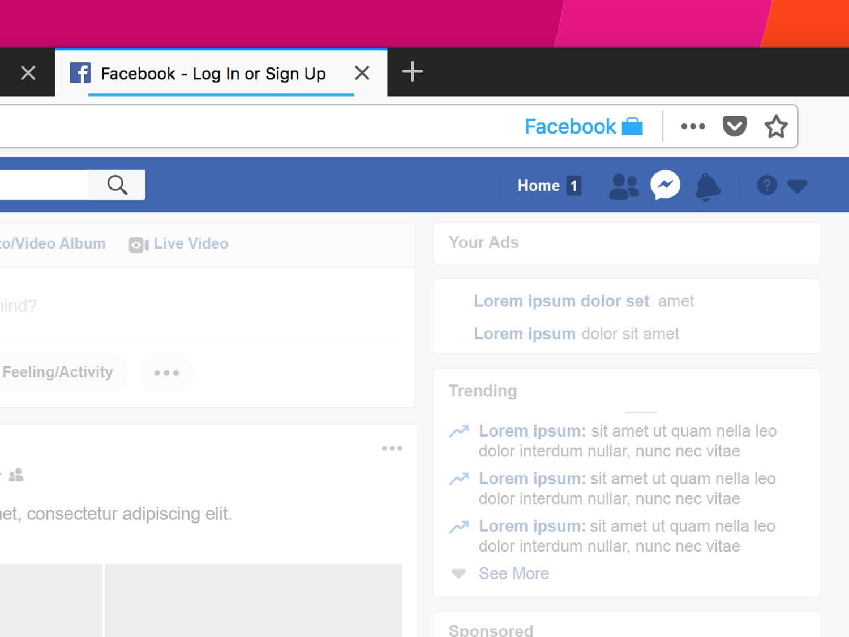 Method 4: Internet Browser Extension Facebook Hacker