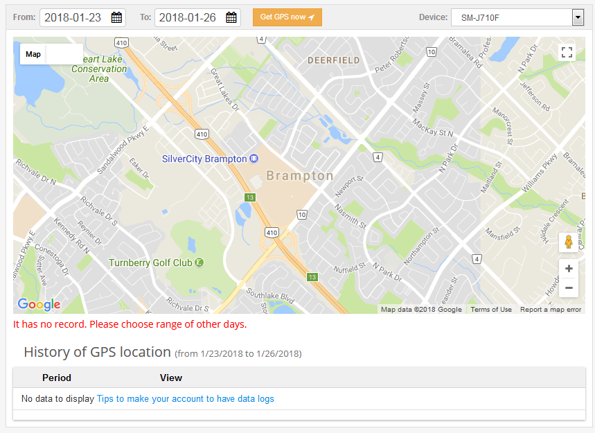 Way 3: Track An iPhone by Phone Number with GuestSpy