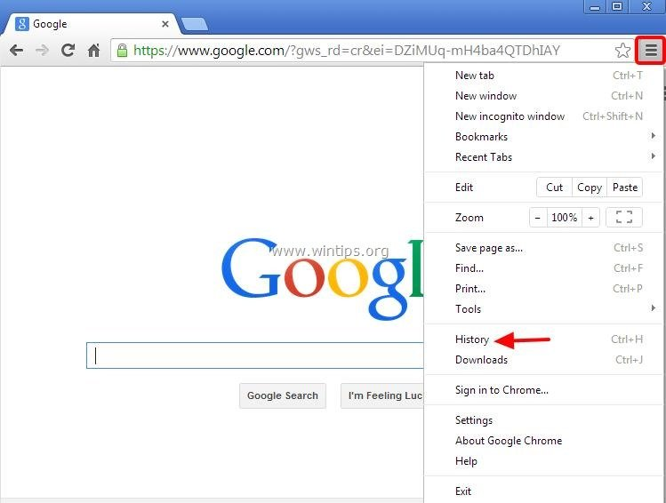 Section 1: The most effective method to Show and Delete Chrome Browsing History