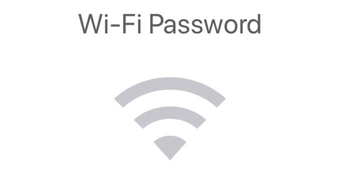 Wi-Fi password on Mac OS